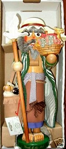 Retired 1996 Signed Karla Steinbach Wooden 1st in the Biblical Series *Noah and His Ark* Nutcracker