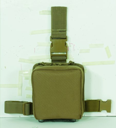 (VooDoo Tactical 20-0020007000 Drop Leg First Aid Pouch,)