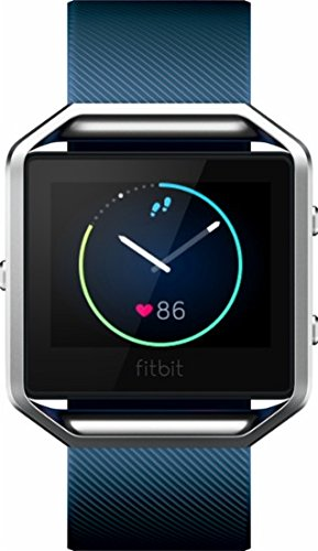 Fitbit Blaze Smart Fitness Watch (Small) - Blue (International Version) by Fitbit