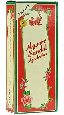 Mysore Sandal Incense 2 Packs of 20 Sticks