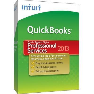 QuickBooks Professional Services 2013 Premier Industry Edition (Quickbooks Premier 2013 Software)
