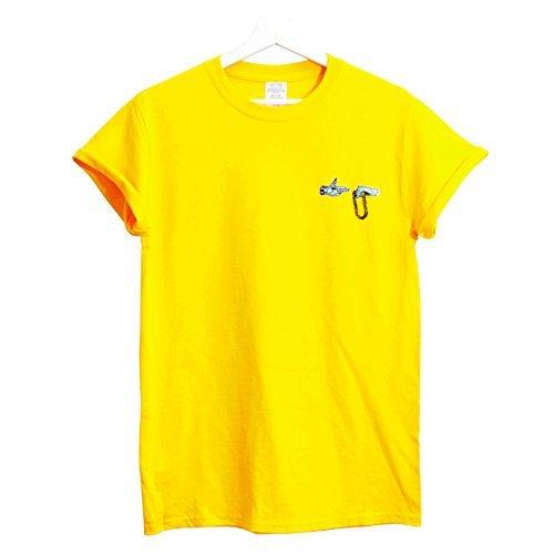 Fact T shirt Rtj Xxl Hip Jaune Actual Jewels The Brodé Initialism Hop petit Run dSw4q1xP6v