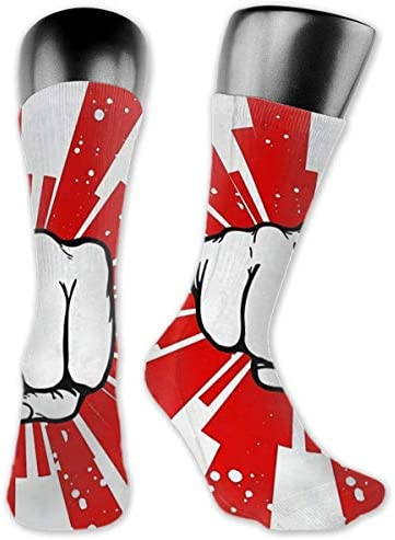 Japan Karate Strength Cushion Crew Socken Workout Training Wandern Walking Athletic Sport Socken für Männer und Frauen Sneaker Low Cut Socken
