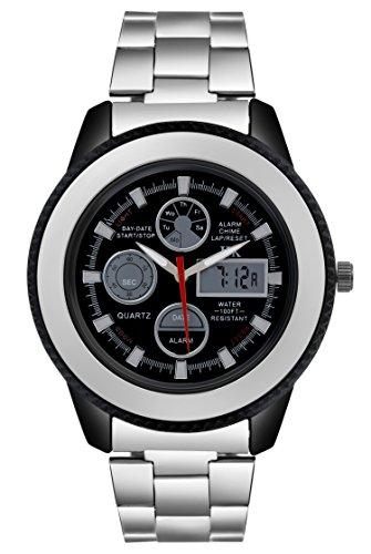 IIK Collection Watches Quartz Movement Analogue Black Dial Men #39;s Watch   IIK 809M