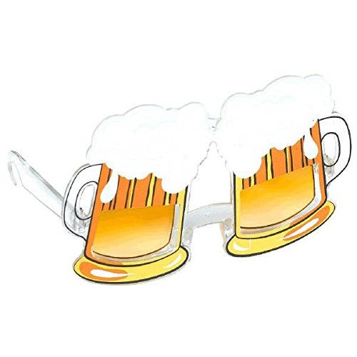 Party Ready Ice Cold Beer Funshades Accessory, Plastic, Standard - Eyeglasses Ice