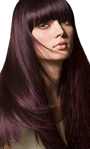 Lange Perücke Mit Glatten Haaren Und Schönen Schnitt Wunderschöne