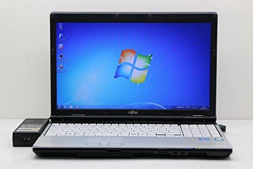 【中古】 富士通 LIFEBOOK E742/E Core i7 3520M 2.9GHz/8GB/500GB/Multi/15.6W/WXGA++(1600x900)/Win7   B07BKX9635
