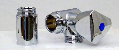 Geräteanschluss Ventil Für Küche Wand Wasserhahn 3 4 Zoll Amazon De