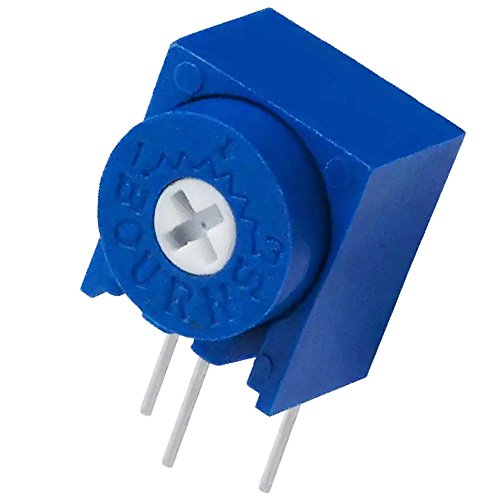 3339W-1-500 Bourns Inc Resistor Cermet Trimmer 50 Ohm 10% 0.5W(1/2W) 4(Elec) Turn (8.13 X 8 X 9.53mm) Pin Thru-Hole