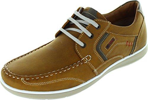 Pod  Hawk 2, Chaussures bateau pour homme marron marron
