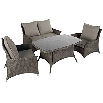 Amazon.de: Hartman Appleton-Rattan Weave Garten Outdoor Casual ...