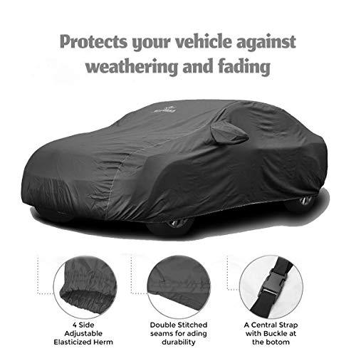 CARMATE Pride Custom Fitting Waterproof Car Body Cover for BMW X1 – Grey