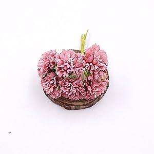 Artificial Flower Roses Wedding Decoration Home Decoration Festivals Party Decorations Silk Daisy Flower 30PCS 4CM (orange) 5
