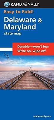 Easy To Fold: Delaware, Maryland (Easyfinder S)