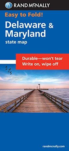 (Easy To Fold: Delaware, Maryland (Easyfinder S))