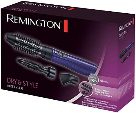 Remington AS800 Dry & Style - Moldeador de Aire Caliente, Cepillo ...