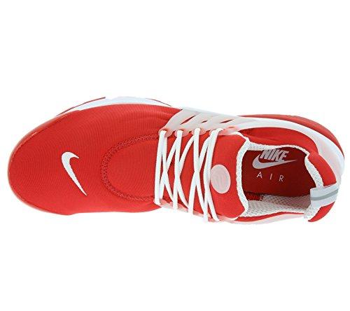 Nike Mens Luft Presto Viktigt Komet Röd Svart Vit 611