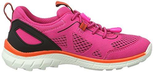 ECCO Biom Trail Kids, Zapatillas de Deporte para Exterior para Niñas Rojo (50386beetroot/beetroot-black/beetroot)