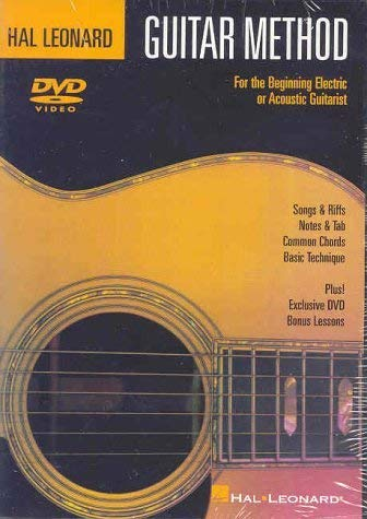 Hal Leonard Guitar Method DVD: For the Beginning Electric or Acoustic Guitarist from Hal Leonard