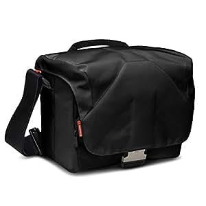 Manfrotto Bella V - Bolsa para cámara DSLR (18 cm x 26 cm x 14 cm), negro
