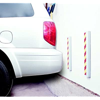 MAXSA 37357 Park Right Reflective Car Door Bumper Guards with Adhesive Mounting (2-Pack): Automotive