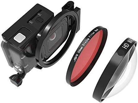 Lente Macro HD de 58 mm, Filtro de 24 aumentos + Adaptador ...