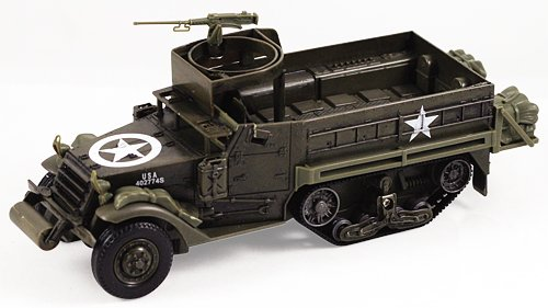 InAir Classic Armour E-Z Build M3A1 Half Track Model Kit (Armored Personnel Carrier Kit)