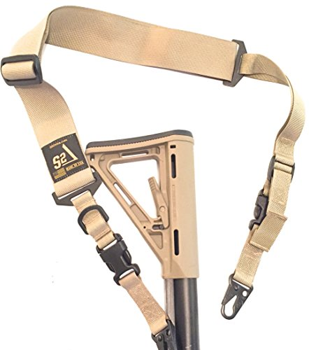 Great Features Of S2Delta - USA Made Premium 2 Point Rifle Sling, Fast Adjustment, Modular Attachmen...
