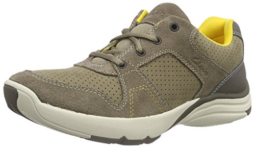 Taupe Uomo ClarksWave ClarksWave Beige Sneakers Launch Nubuck Launch wRRq7Y1