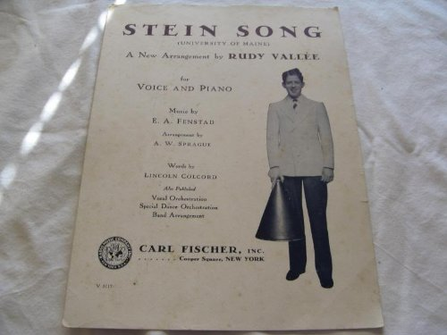 STEIN SONG RUDY VALLEE 1930 SHEET MUSIC FOLDER 440 SHEET ()