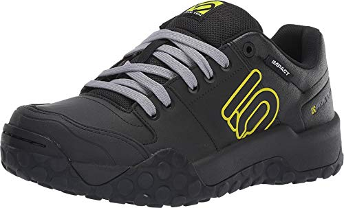 Five Ten Impact Sam Hill Mens Mountain Bike Shoes (Black, Grey, Semi Solar Yellow) Size 10