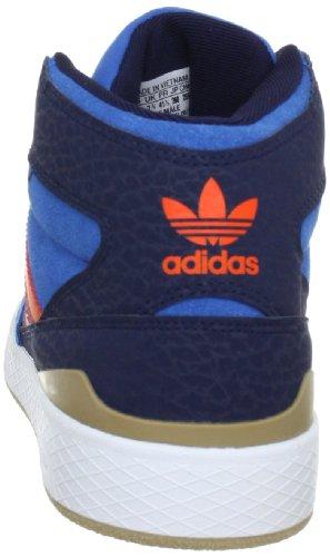 adidas Originals FORUM X - Zapatillas de cuero hombre, color azul, talla 41 1/3: Amazon.es: Zapatos y complementos