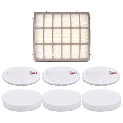 Shark Navigator Professional (NV70, NV80, UV420) & Shark Rotator Professional XL Capacity (NV90, NV95) Replacement Filter Set - XFF80 XHF80 By Artraise