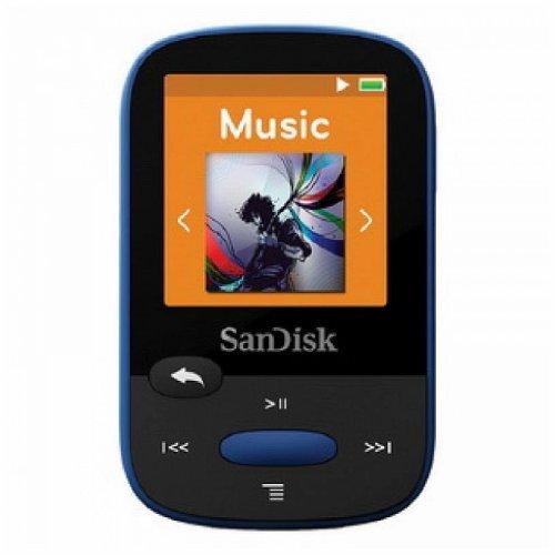 SanDisk SDMX24-008G-A46B Clip Sport 8GB MP3 Player Blue