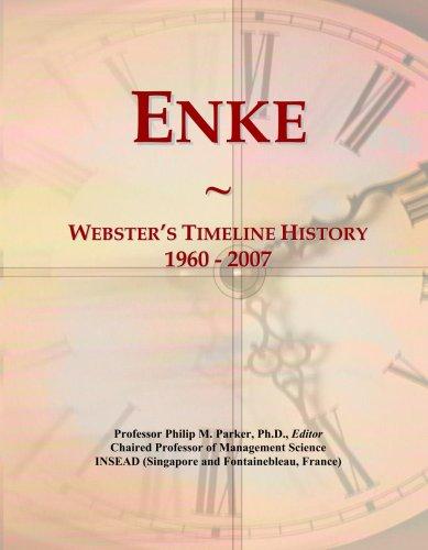 Enke: Webster's Timeline History, 1960 - 2007