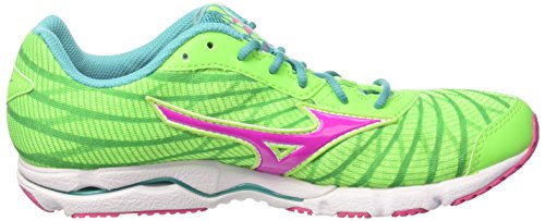 Running Greengecko Women's Electric W Ceramic Shoes Hitogami Mizuno Wave Multicolor 4wBIqRZxn
