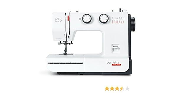 Bernina Bernette B33 - Máquina de coser: Amazon.es: Hogar