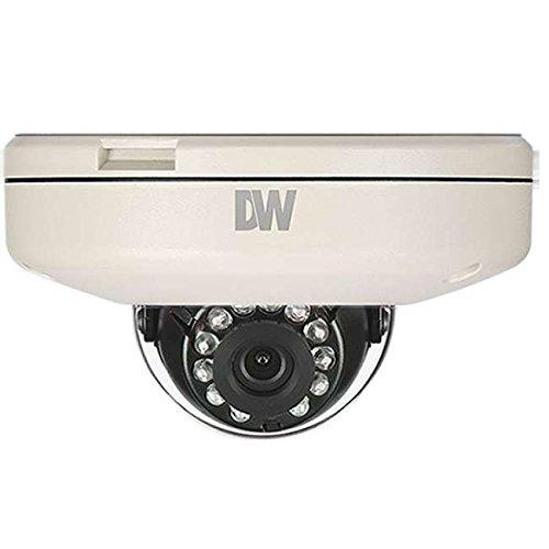 DIGITAL WATCHDOG MEGApix Flat Vandal Dome Camera, 4.0mm Fixed Lens, 50ft Range IR, OnVIF Compliant, True D&N, 2.1 Megapixels / DWC-MF21M4TIR - Camera Digital Watchdog Dome