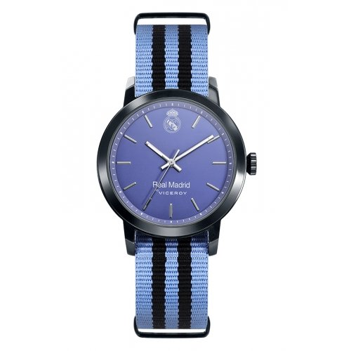 Real Madrid Watch Viceroy 40966-39 Textile Blue Boy by Viceroy