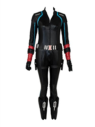 US Stock & Ready to Ship~ Black Widow Natasha Romanoff Cosplay Costume mp002373