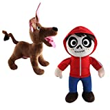 Coco Plush Toy-Miguel Rivera and Dante Stuffed Toys (Miguel Rivera and Dante Dog)