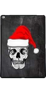 Funda para Apple Ipad Pro 13 pulgadas - Cráneo Padre Navidad by wamdesign