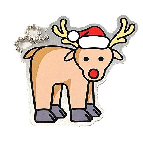 geo-versand Rudolph The Reindeer Travelbug Rentier TravelTag Geocaching Trackable WEihnacht