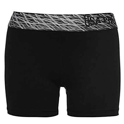 USA Pro Bambini 3  Shorts Pantaloncini Sportivi Ragazze Bambine Sport Pantaloni