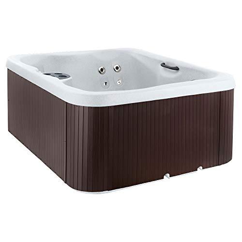 Aquaterra Spas Adriana Plug & Play 21 Jet 4 Seat Hot Tub (Renewed) (Best Plug N Play Hot Tub)