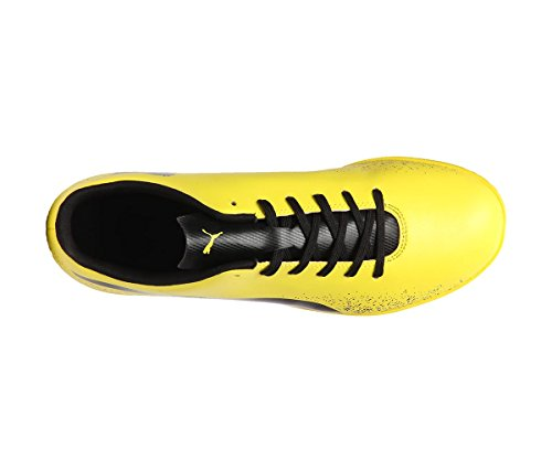 Puma Mens Truora It Blazing Yellow Black Football Boots - 10 UK/India (44.5 EU)(10462002)