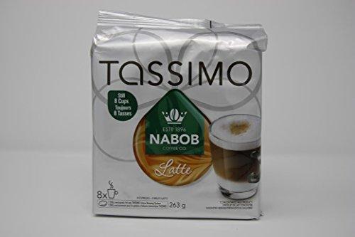 NABOB Latte Coffee, 0.5 lbs, 8 Count