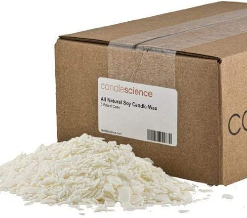 5 lb CandleScience All Natural Soy Candle Wax