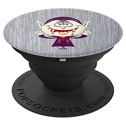 Halloween - Cartoon Vampire - PopSockets Grip and Stand for Phones and Tablets