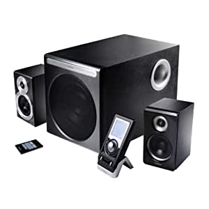 Edifier S530D-W conjunto de altavoces - Set de altavoces (2.1, 145W, PC, 10%, 85 Db, 70W) Color blanco